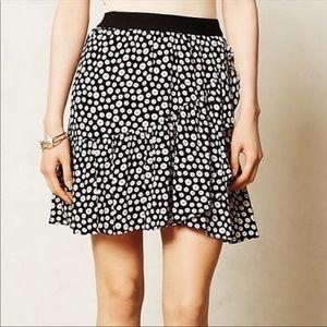 Anthropologie Ruffle Skirt